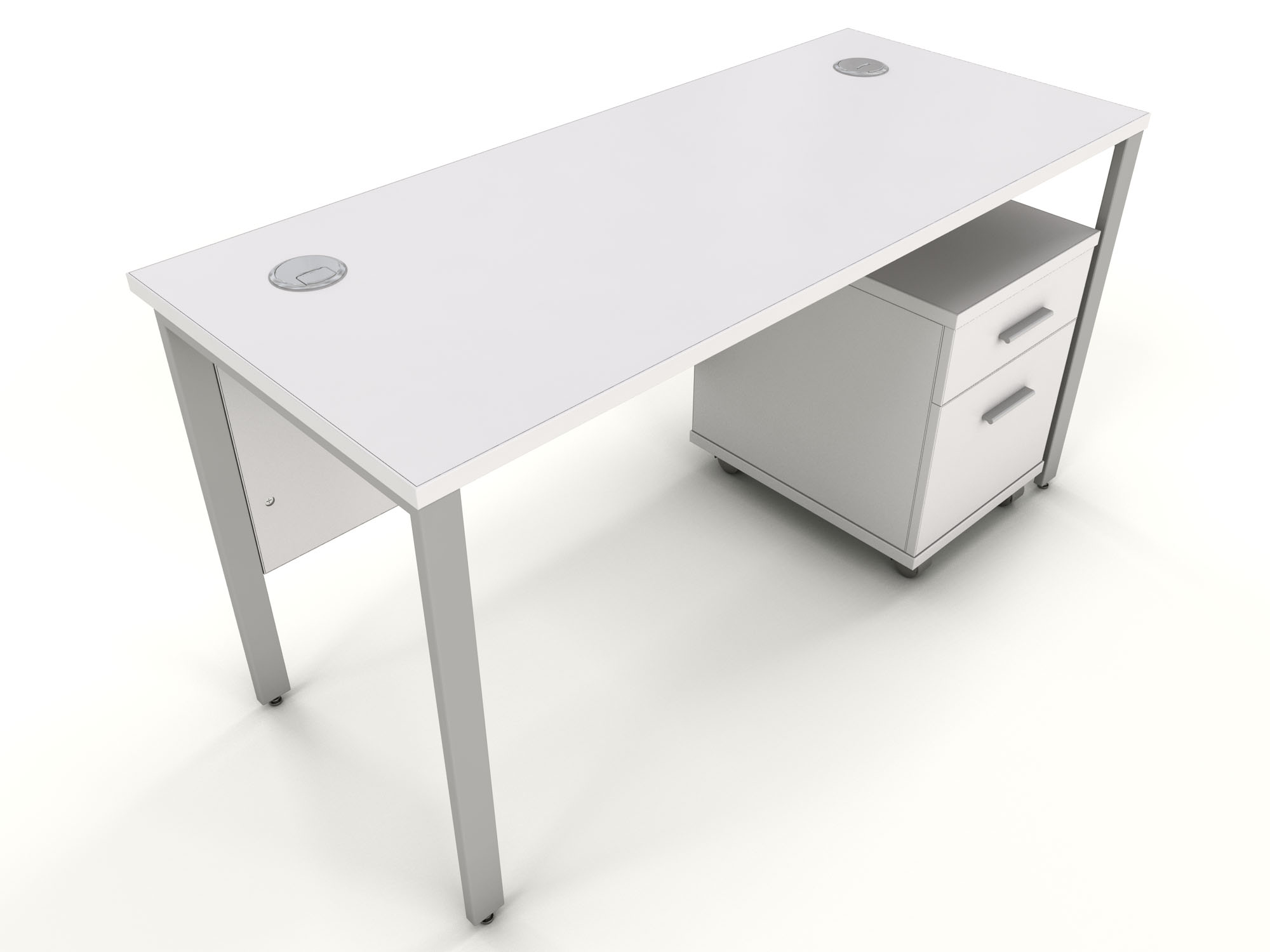 white office desks for home. White Bench Desk ICW6 Office Desks For Home F