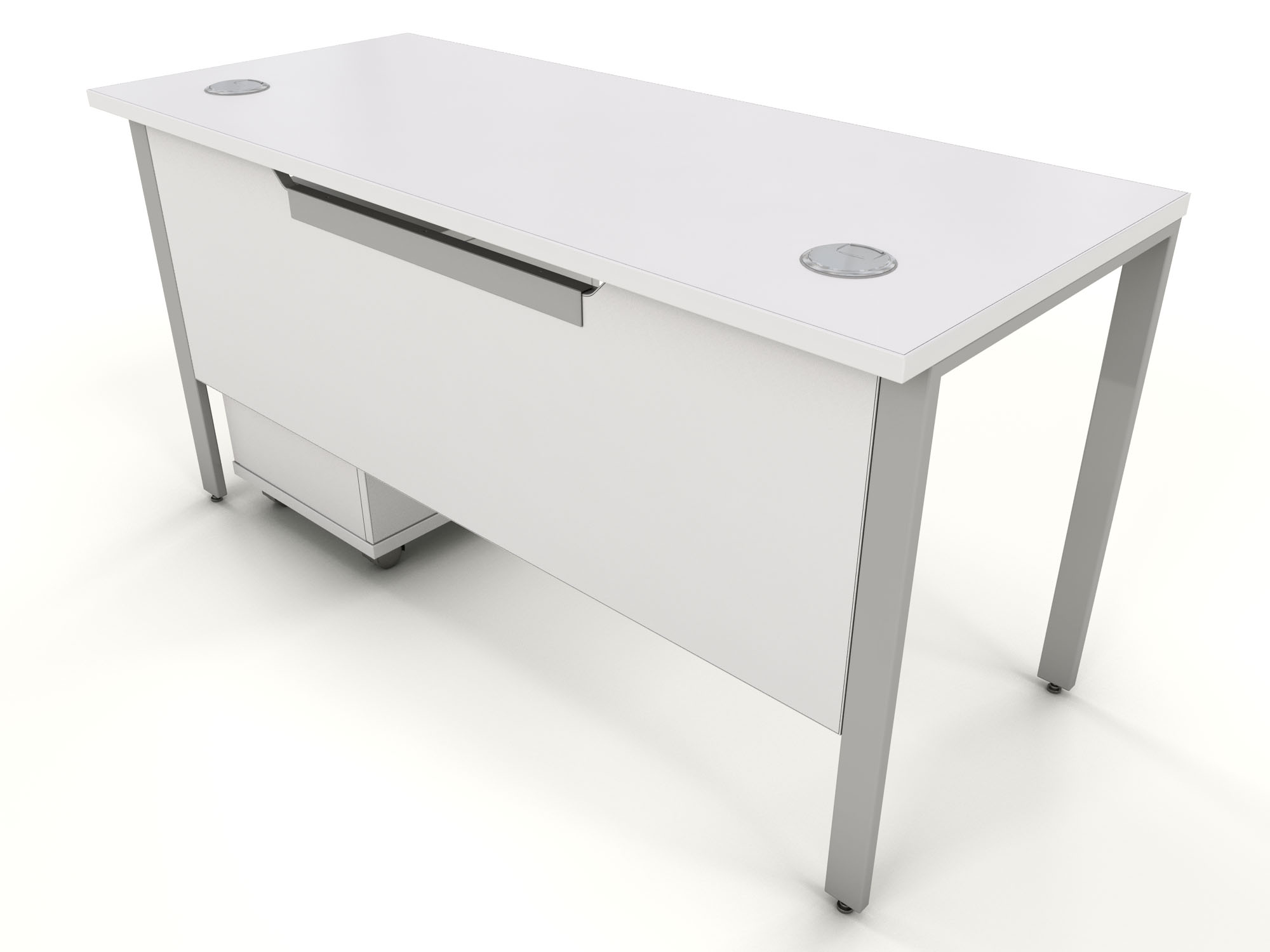 Cool White Bench Desk Icarus Office Furniture Cjindustries Chair Design For Home Cjindustriesco