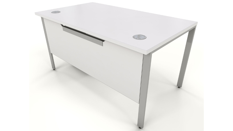 Office Desks White white office furniture | icarus office furniture