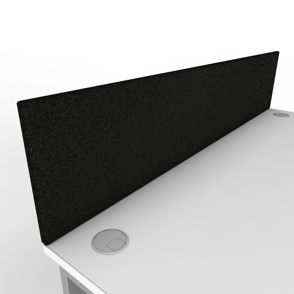 1600mm x 350mm black desktop screen