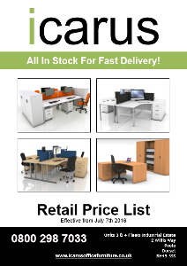 icarus wholesale & trade office furniture brochure